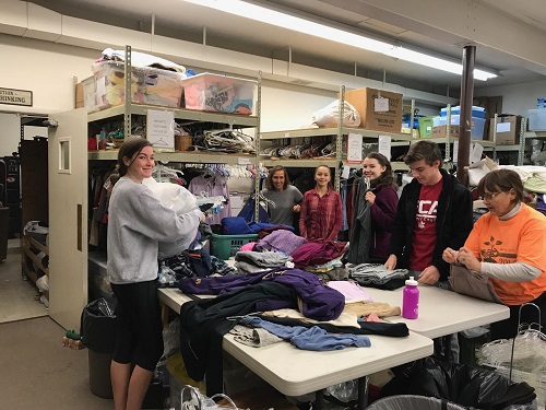 2018 Day of Service at Salvation Army