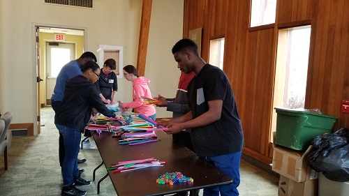 2018 Day of Service at Board of Child Care