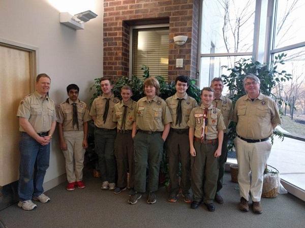boy scout troop 1997