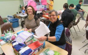 Day of Service 2017 Creating Health Kits