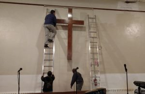 Day of Service 2017 Repairs Ames UMC