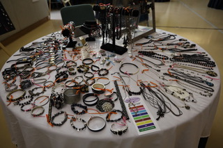 Jewels for Hope 2018 table