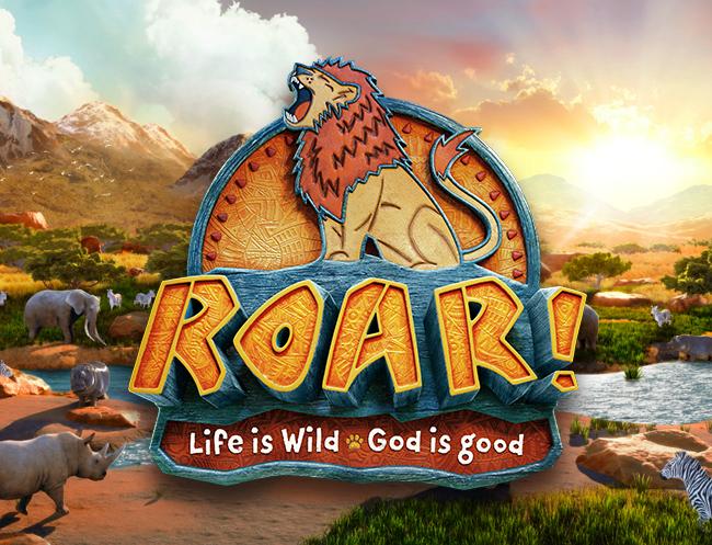 Roar vbs logo