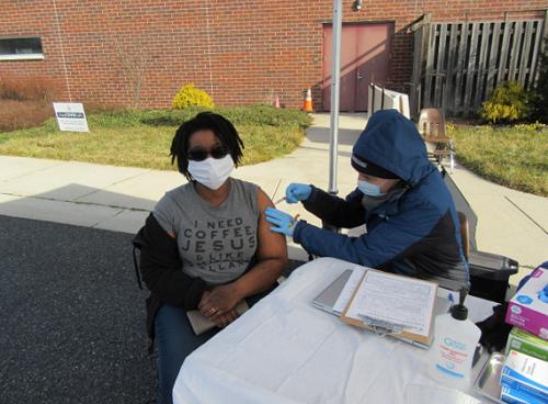 Day of Service 2021 flu shot clinic