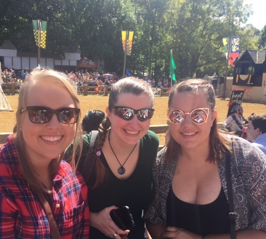 Post-College Small Group at Renaissance Festival