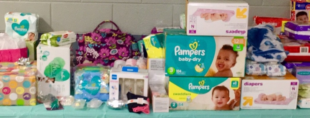 UMW Baby Shower 2019 Diapers